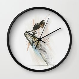 Drift Contemporary Dance Wall Clock