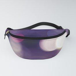 BOKEH Dots: Raining Purple Fanny Pack