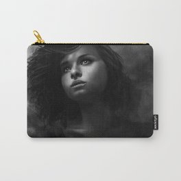 Beautiful little girl art Carry-All Pouch