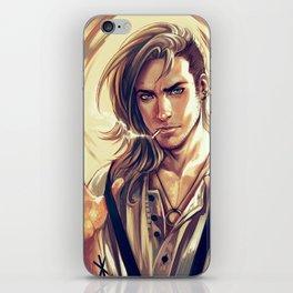 Badass Gentleman iPhone Skin