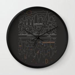 City 24 Wall Clock
