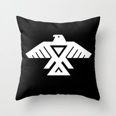 Thunderbird flag - Inverse edition version Throw Pillow