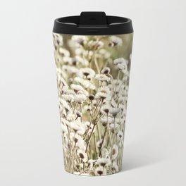Fleabane Wild Aster Daisy Flowers en Masse Travel Mug