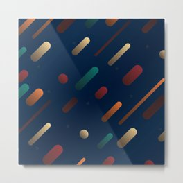 Pattern: Polygone Galaxy Metal Print