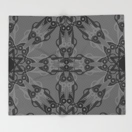 Art Deco Automobiles Throw Blanket