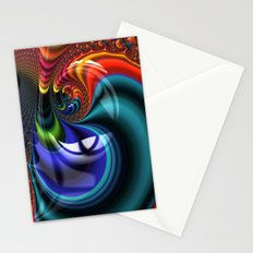 Ultra Fractal Swirl Stationery Cards