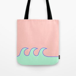 Sea Foam-o (Millennial Pink Edition) Tote Bag