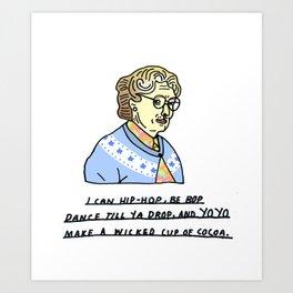 Robin Williams Tribute  Art Print