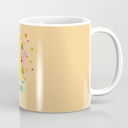 Four Years old fourth Birthday Party Dpkhc Coffee Mug