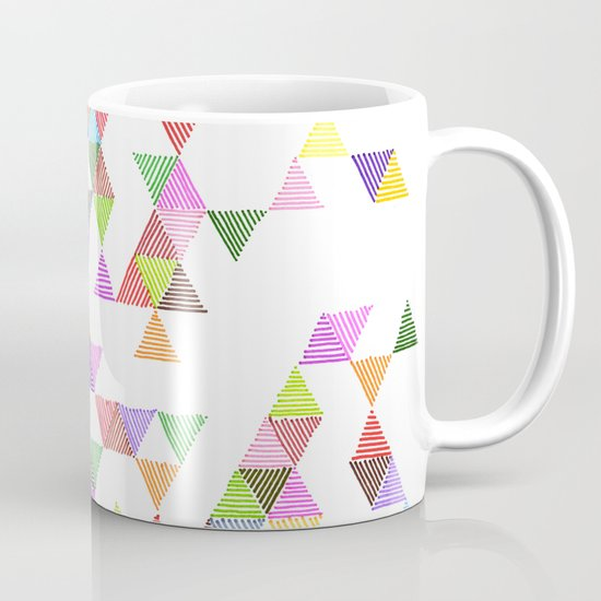 Technicolour Raindrops Mug