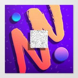 Future Funk by Jens Ingelse Canvas Print