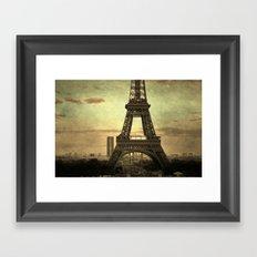 Mon Paris - La Tour Eiffel Framed Art Print