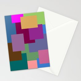 Squares, so many squares Stationery Cards