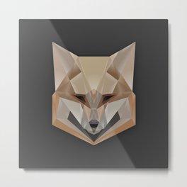Fox Geod Metal Print
