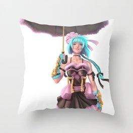 Char Design #1 Dave Brito Throw Pillow