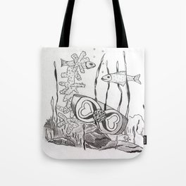 The Symbol of Eternal Love Tote Bag