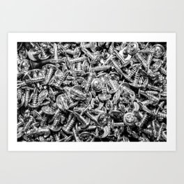 screws Art Print