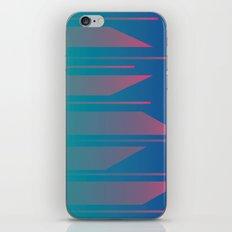 Neon Fade iPhone Skin