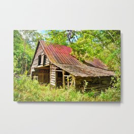 Russell Farmstead Metal Print