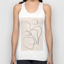 Abstract Line I Unisex Tank Top