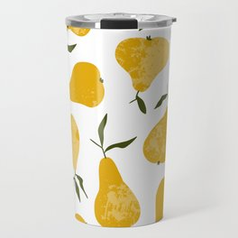 Yellow pear Travel Mug