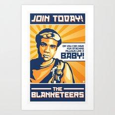 The Blanketeers Art Print