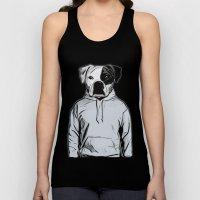 Cool Dog Unisex Tank Top