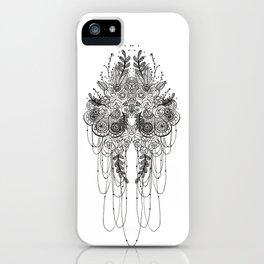 Black & White Lace iPhone Case