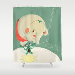 Circus Shower Curtain