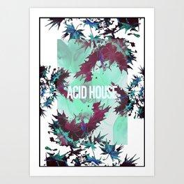 Acid House I Art Print