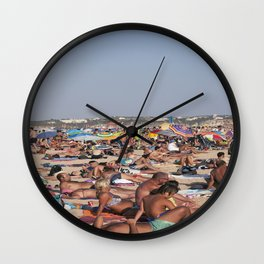 Beach Time 2! Wall Clock