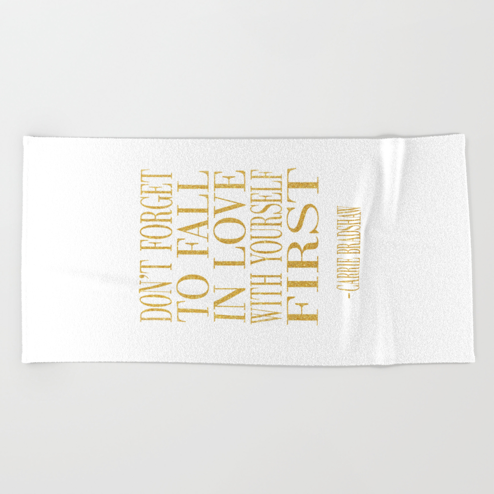 Don't Be Like The Rest Of Them Darling Beach Towel by Nikolajovanovic BTL7769244