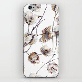 Cotton Boll iPhone Skin