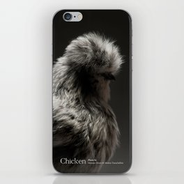 Chic!ken - Silkie Bantam iPhone Skin
