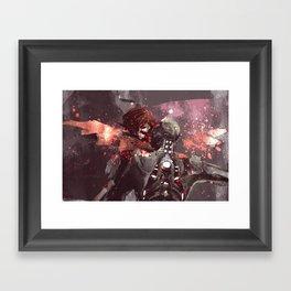 Shepard + Husk Framed Art Print