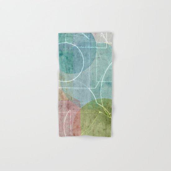 Area Map Hand & Bath Towel