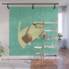Jacques Chatsteau Wall Mural