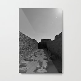 Masada Metal Print