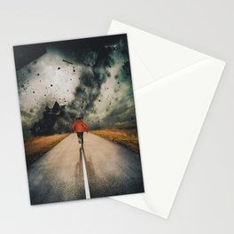 Against All Instinct Stationery Cards