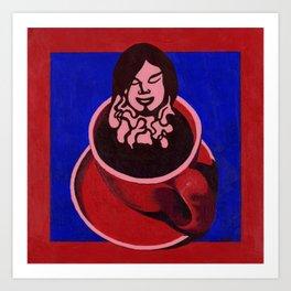 Black Coffee IV Art Print