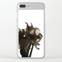 Winter of Life - Solitude Clear iPhone Case