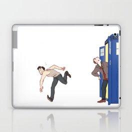tardis-sick Laptop & iPad Skin
