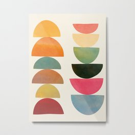 Modern Abstract Art 76 Metal Print