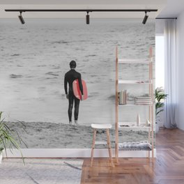 Red Board Wall Mural