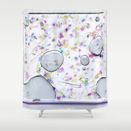 Glitter Bag Shower Curtain