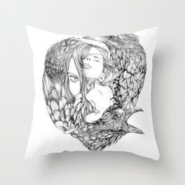 Brenna Whit - Line Throw Pillow