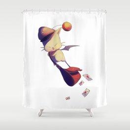 Fantasy Moogle Shower Curtain