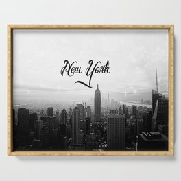 New York sk Serving Tray