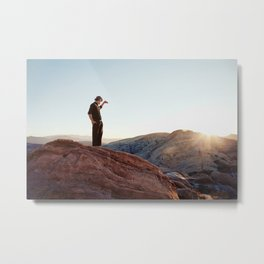 Vasquez Rocks, CA. Metal Print
