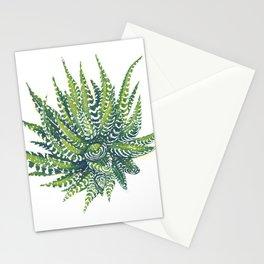 haworthia succulent Stationery Cards